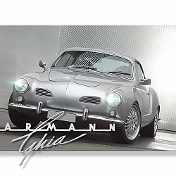 Metal & Art 'Karmann Ghia'