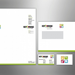 Key4Music popmuziekschool stationary